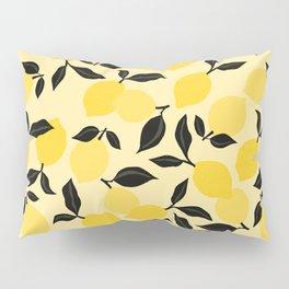 Seamless Citrus Pattern / Lemons Pillow Sham