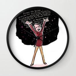 Carl Sagan Wall Clock