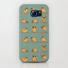 Pug Yoga Galaxy S7 Slim Case
