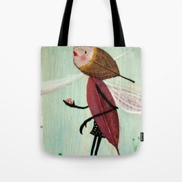 EEFJE | illustration by Angelique Desiree Tote Bag