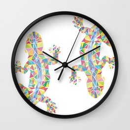 Barcelona Lizard Wall Clock