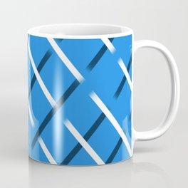 slitwhitecrossblue Coffee Mug