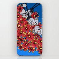 oklahoma iPhone & iPod Skins featuring OKLAHOMA by Erin L Turberville