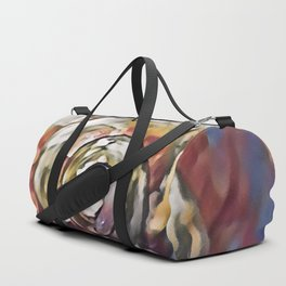 Seashell Spiral Cone TIp Duffle Bag