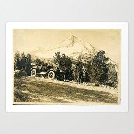 Vintage Sepia Photo1# Art Print