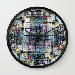 Tuesday 2 April 2013: , beguiled as you may be by continual modification Wall Clock