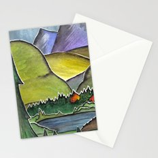 Forest Print. Stationery Cards