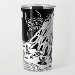 Moon bath/Baño de Luna Travel Mug