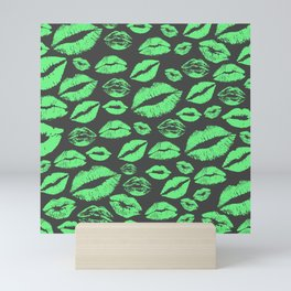 Lips 11 Mini Art Print