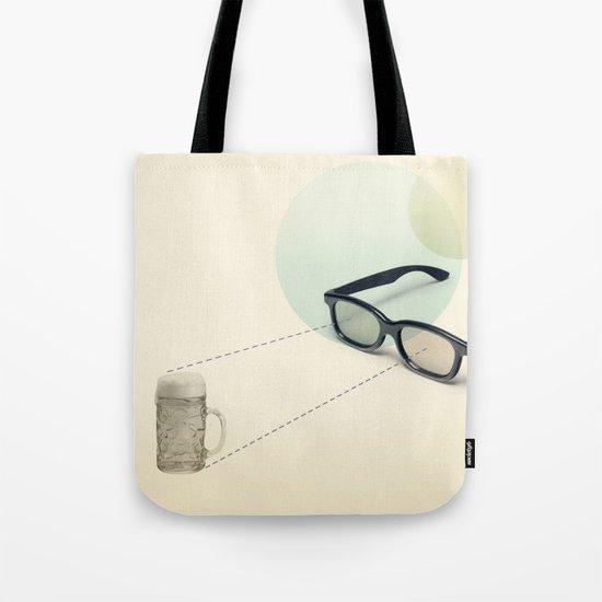 beer goggles Tote Bag