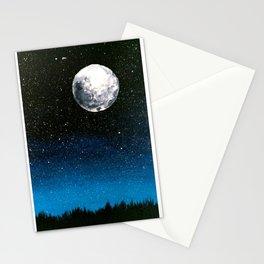 January Sky Stationery Cards