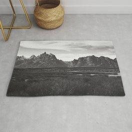 Dark Mountains Rug