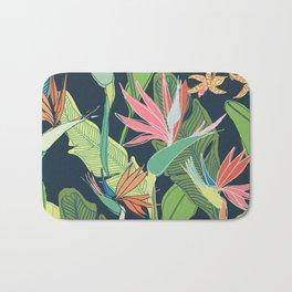 Tropical Bird of Paradise Bath Mat