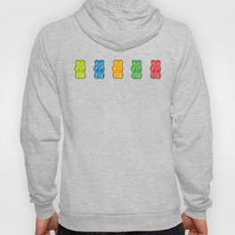 Rainbow Gummy Bears Hoody