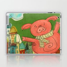 Piggy Pig Laptop & iPad Skin