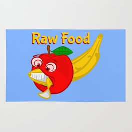 Raw Foods Food Fight Rug