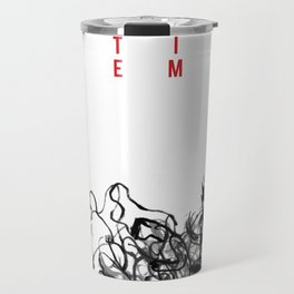 Graphic Gigs: White Denim Travel Mug