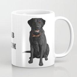 Dog Mom Black Labrador Retriever Coffee Mug