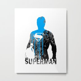 SUPERMAN Metal Print