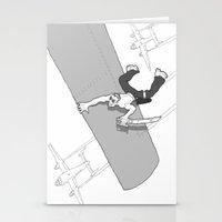 pirate Stationery Cards featuring Pirate by Joseph Boquiren