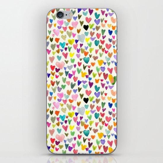 Love the world iPhone & iPod Skin