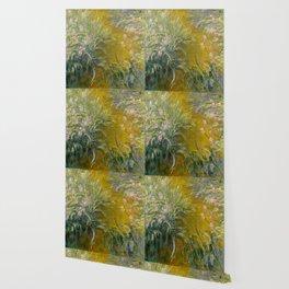 The Path through the Irises - Claude Monet Wallpaper
