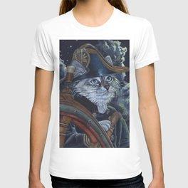 Sea Captain Cat T-shirt