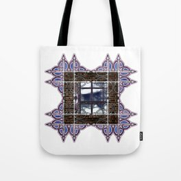 Dark Sky Window Tote Bag
