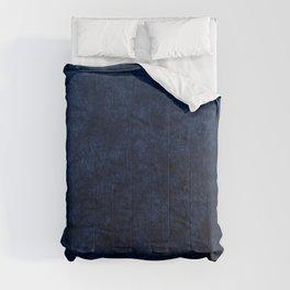 Royal Blue Velvet Texture Comforters