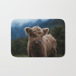 Baby Highland Cow Bath Mat