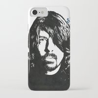 dave grohl iPhone & iPod Cases featuring Dave Grohl (2) by Carolyn Campbell