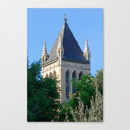 Iowa State University Campanile Close Up Canvas Print