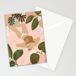 Life Is Better Without Bra Stationery Cards