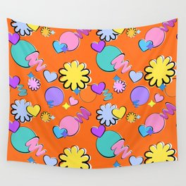 BTS Permission to Dance Pattern Wall Tapestry