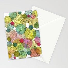 Yarn Stash Stationery Cards