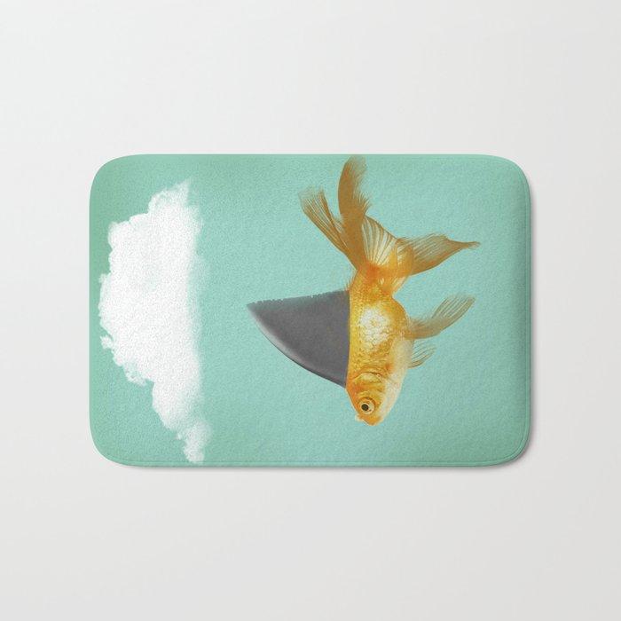 Under A Cloud Bath Mat