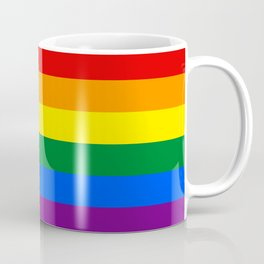 Pride Rainbow Colors Coffee Mug