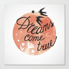 Print Dreams come true for two Canvas Print
