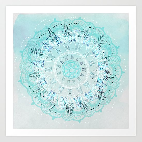 Mandala Breeze Art Print