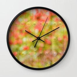 Fortress of softness Wall Clock
