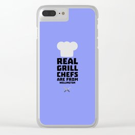 Real Grill Chefs are from Wellington D2ocq Clear iPhone Case