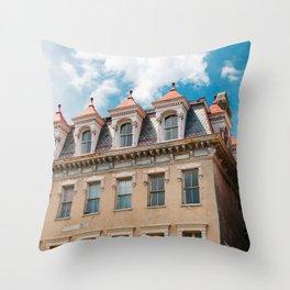 Charleston Architecture LV Throw Pillow