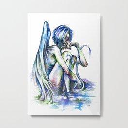 Creature of the Swamp Metal Print