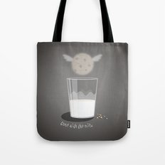 Gone with the milk Tote Bag