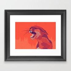 Puma Concolor Framed Art Print