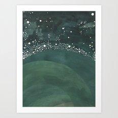 Galaxy No. 3 Art Print