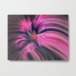 Unusual Flower in Pink Metal Print