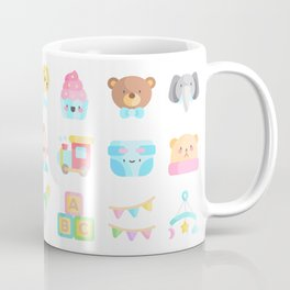 CUTE BABY PATTERN Coffee Mug
