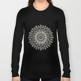 Vintage Mandala on Gold Long Sleeve T-shirt