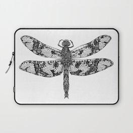 Filigree Skimmer black & white Laptop Sleeve